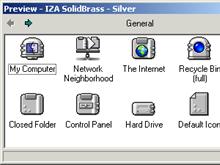 IZA SolidBrass - Silver