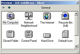 IZA SolidBrass - Silver