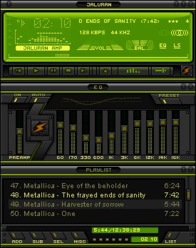 Jaluran for Winamp Classics