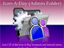 Icon-A-Day #27 (Admin Folder)