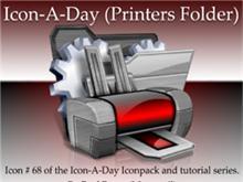 Icon-A-Day #68 (Printers Folder)