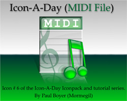Icon-A-Day, #6 (MIDI File)