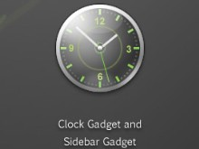 Credo Clock Gadget