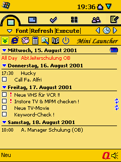 Symbian Yellow