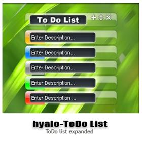 Hyalo-ToDo