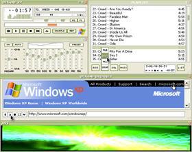 Winamp XP Olive