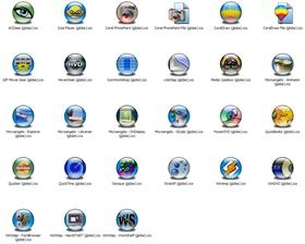 Misc Apps 2 Icons (Globe)