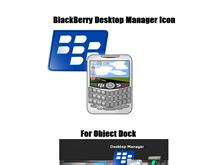 BlackBerry Desktop Manager Icon