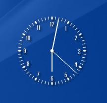 Clear Clock