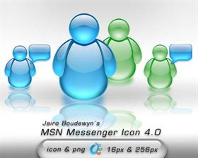 MSN Messenger Icon 4.0