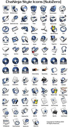 ChaNinja Style (SubZero) Icons