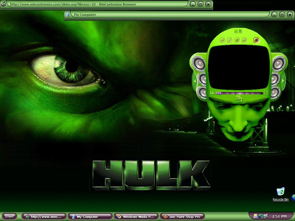 WinCustomize: Explore : Screenshots : The incredible hulk ...