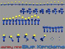 Blue Kendama