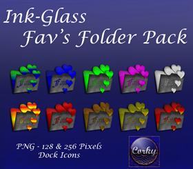 Ink-Glass Fav's Folder Pack