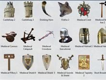 Medieval Icons Pack 3