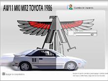 AW11 MKI MR2 TOYOTA 1986