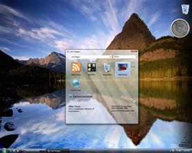 Windows Vista 5308 Sidebar Returns...