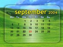 Simple Aero Calendar