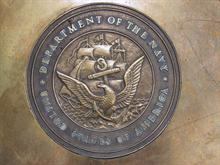 US Navy Plaque