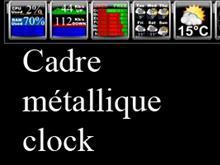 Cadre clock