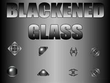 Blackened Glass Small
