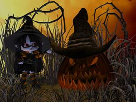 Pumpkin Witch WS