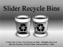 Slider Recycle Bins