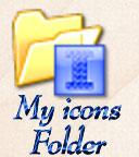 My icons folder