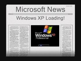 Extra! Extra! Windows XP Loading (Pro Edition)