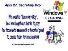 WinXP Secetary Day Boot