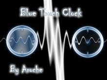 Blue Touch Clock
