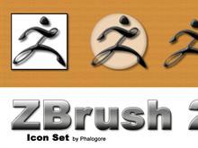 ZBrush Icon set