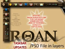 Roan Update to Horizontal/Vertical Taskbar III