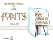 TSWOC Fonts