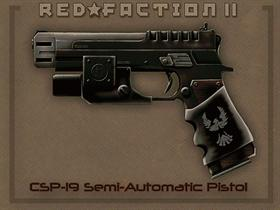 RedFaction WEP Pistol