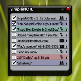 SimpleNOTE v2