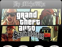 GTA San Andreas icons pack