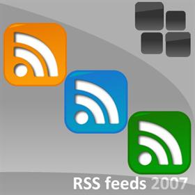 RSS feed icons 2007