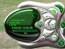 Green MP3 Player