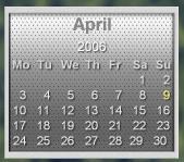 Chrome Calendar