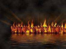 WindowBlinds-fire