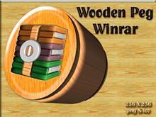 Wooden Peg Winrar