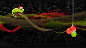 lizard xmas