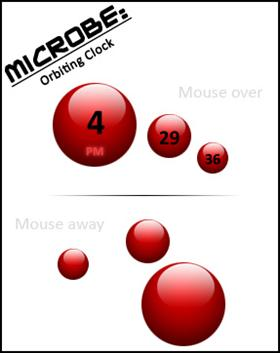 Microbe Clock Gadget