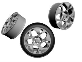 3D Rim and Tyre V1.2