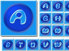 Blue avatars