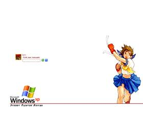 Street Fighter Logon - Sakura