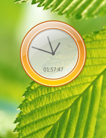 gaiety DX Clock