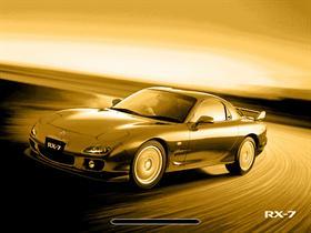 Mazda RX7 - gold