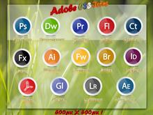Adobe CS3 - Creative Suite 3 Icons